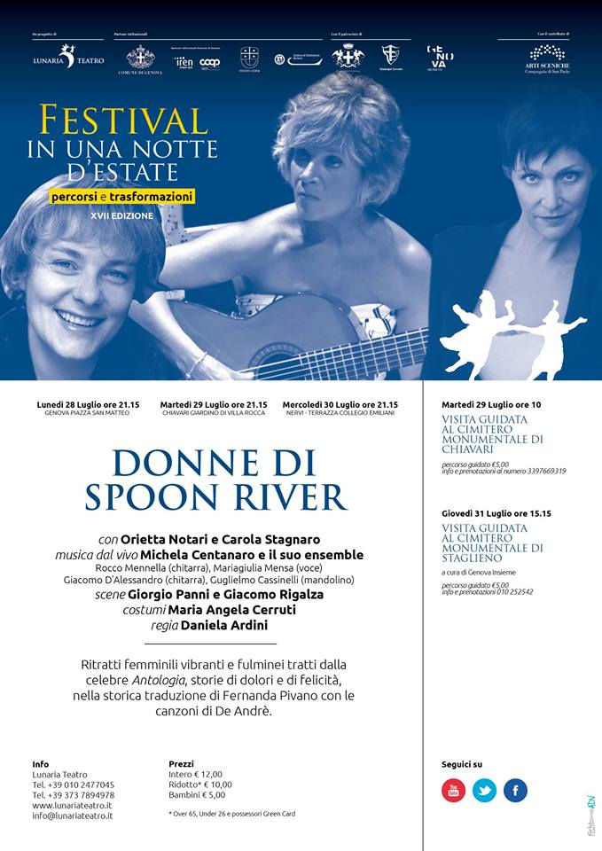 Donne di Spoon River – 2014
