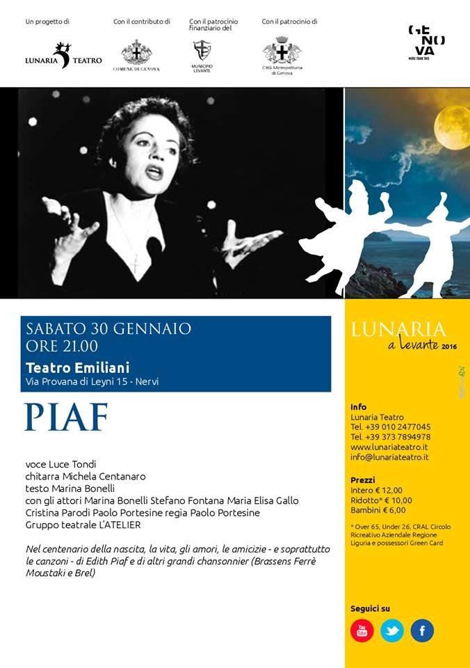 Piaf – 2016
