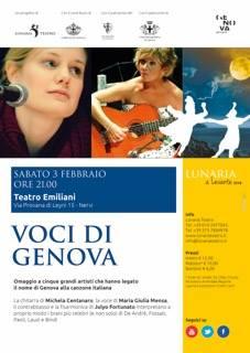 Voci di Genova – 2018